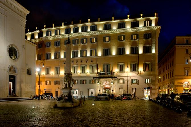 Grand Hotel de la Minerve, Rome Italy