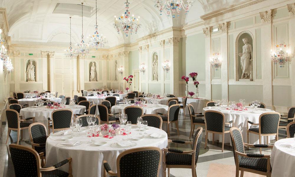 Olimpo Gala Dinner at Grand Hotel de la Minerve, Rome Italy