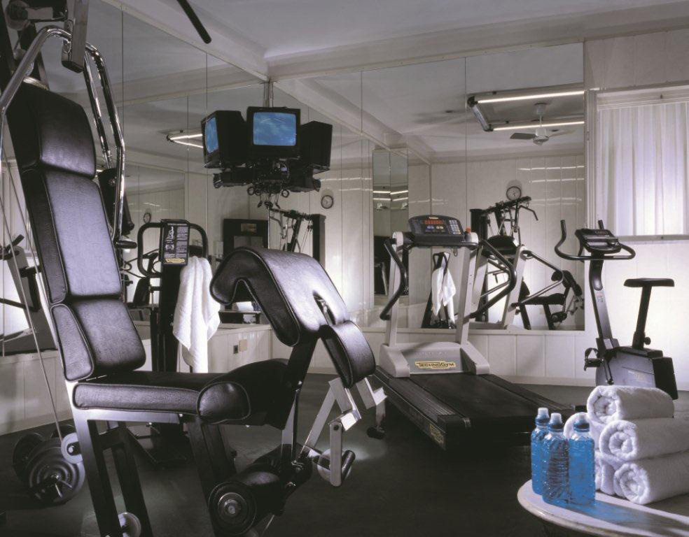 Fitness center at Grand Hotel de la Minerve, Rome Italy