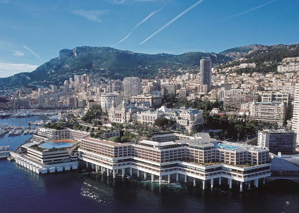 View from the sea at Fairmont Monte CarloMonaco