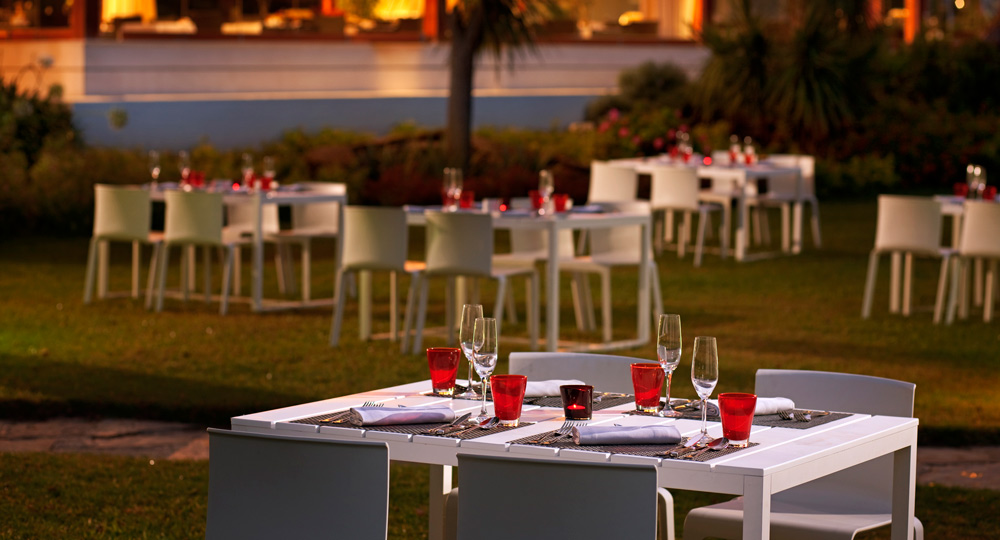 Veranda Restaurant at Gran Melia Don PepeSpain