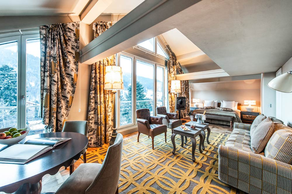 Panaroma Suite at Le Grand Bellevue, Switzerland
