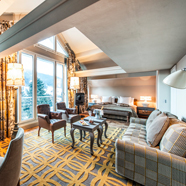 Panaroma Suite at Le Grand BellevueSwitzerland