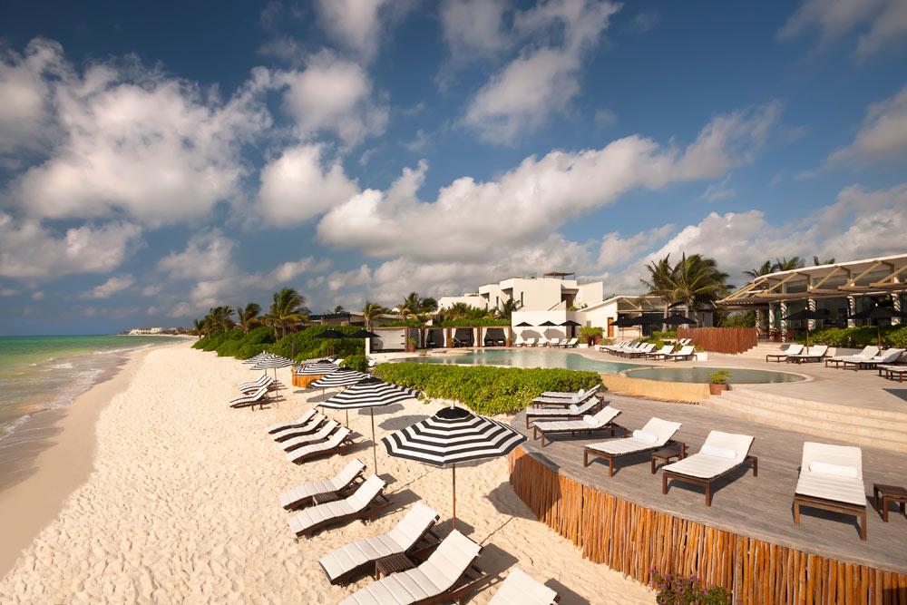 Beach at Rosewood Mayakoba Quintana RooMexico