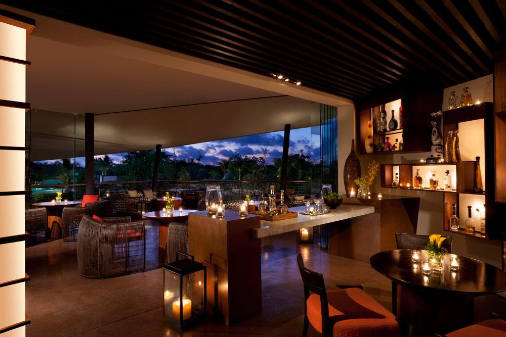 Agave Azul Bar at Rosewood Mayakoba Quintana RooMexico