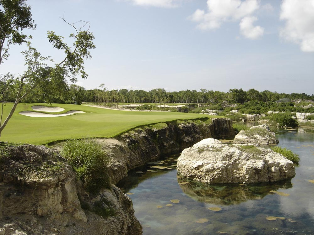 Golf Course at Rosewood Mayakoba Quintana RooMexico