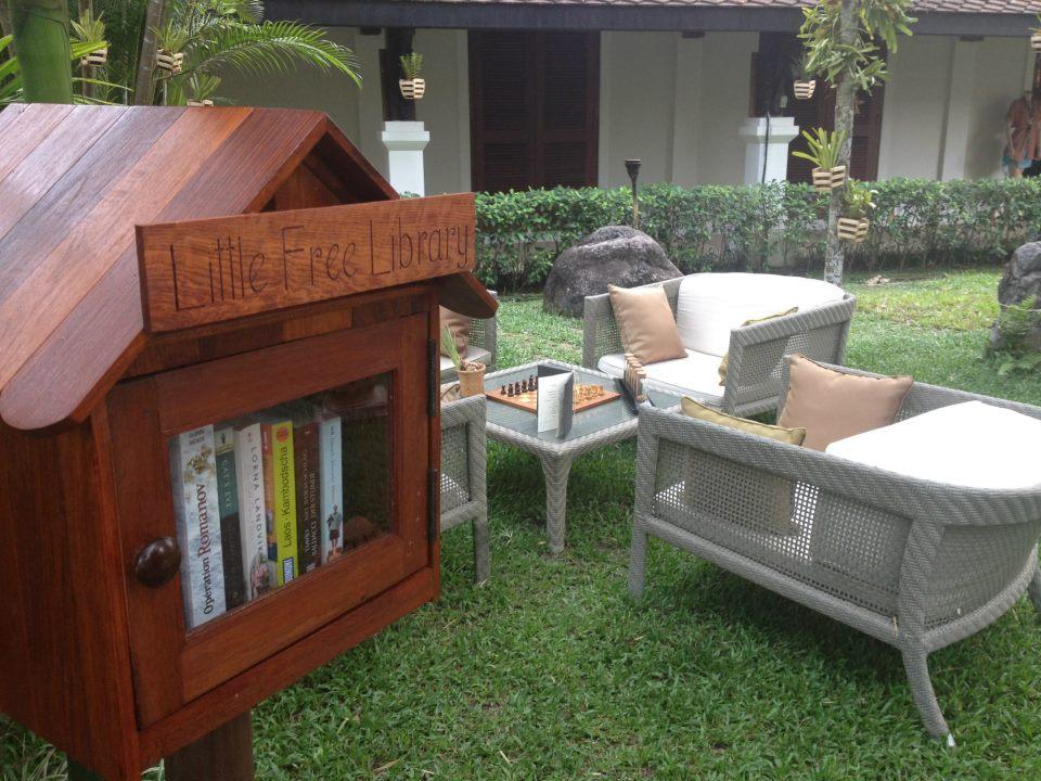 Belmond La Residence Phou Vao Little Free Library