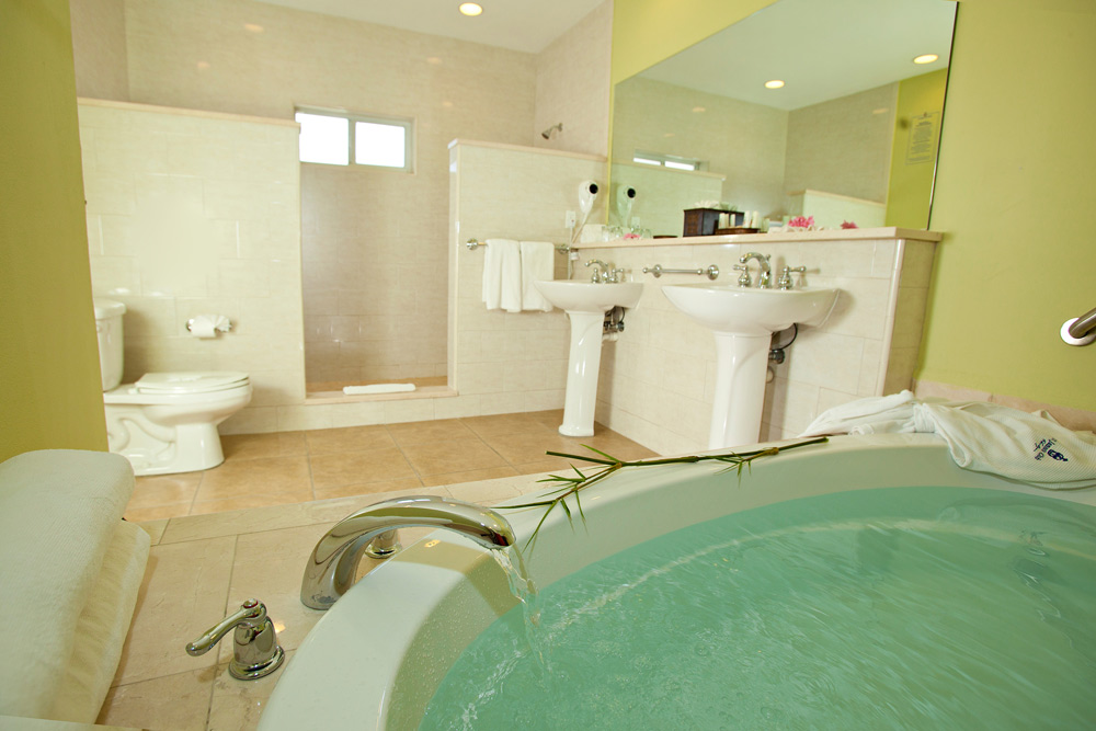 Royal Suite Bath at St. James Club and Villas, Antigua