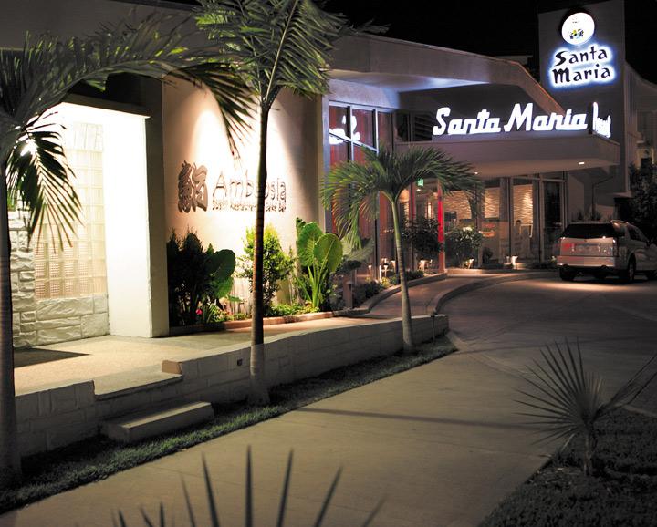 Entrance of Santa Maria Suites Resort, Key West, Florida