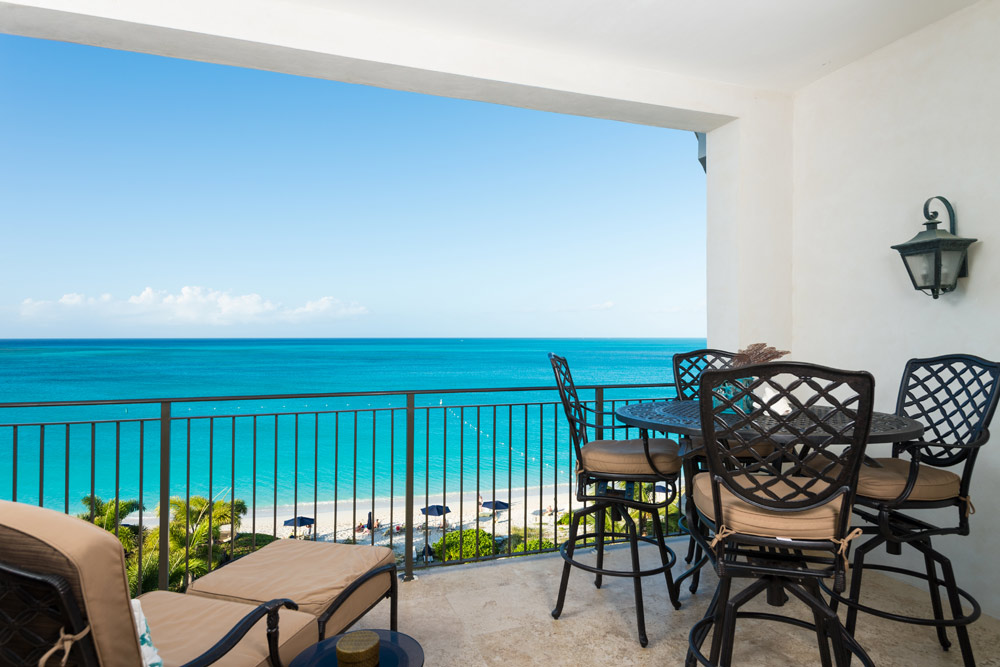 Terrace Ocean View at The Regent Grand Turks and Caicos