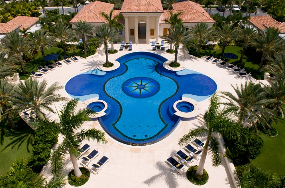 Outdoor Pool at The Regent Grand Turks and Caicos