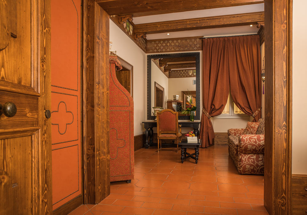 Tuscan Floor Junior Suite at Hotel Bernini Palace, Florence, Italy