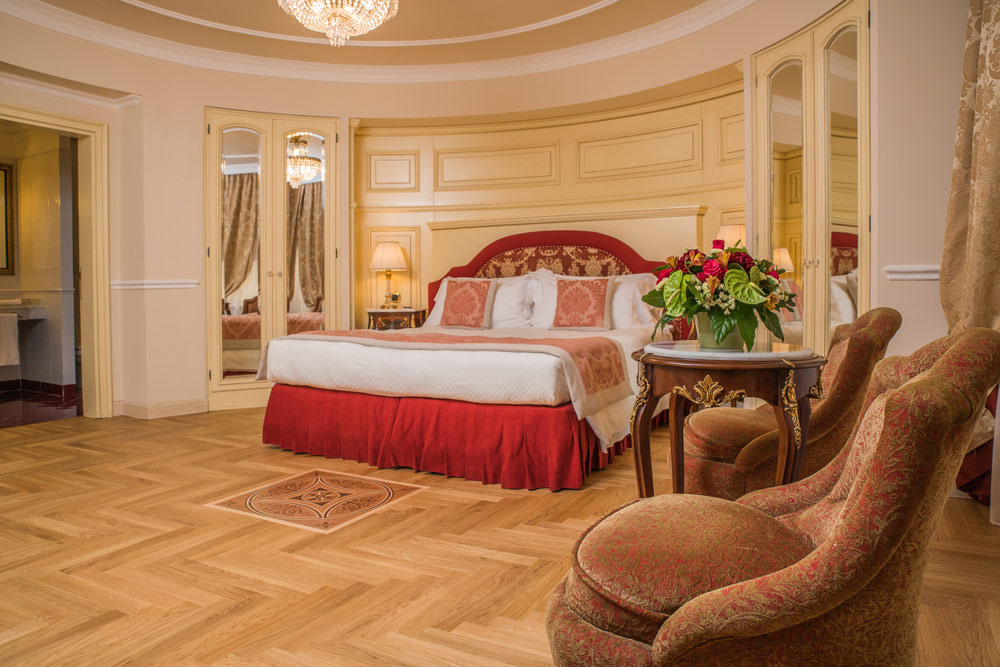 Guest Room at Hotel Bernini Palace, Florence, Italy