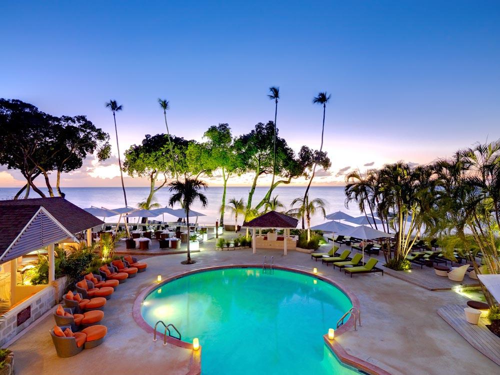 Main Pool at Tamarind Cove Hotel St JamesBarbadosWest Indies