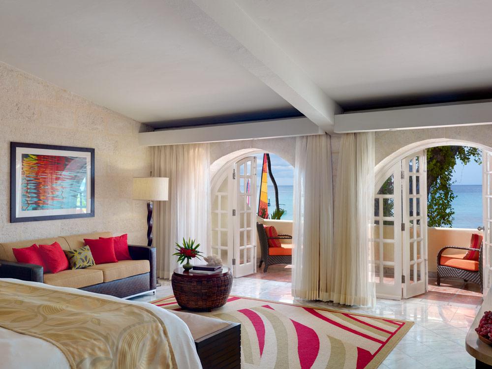 Ocean View Junior Suite at Tamarind Cove Hotel St JamesBarbadosWest Indies