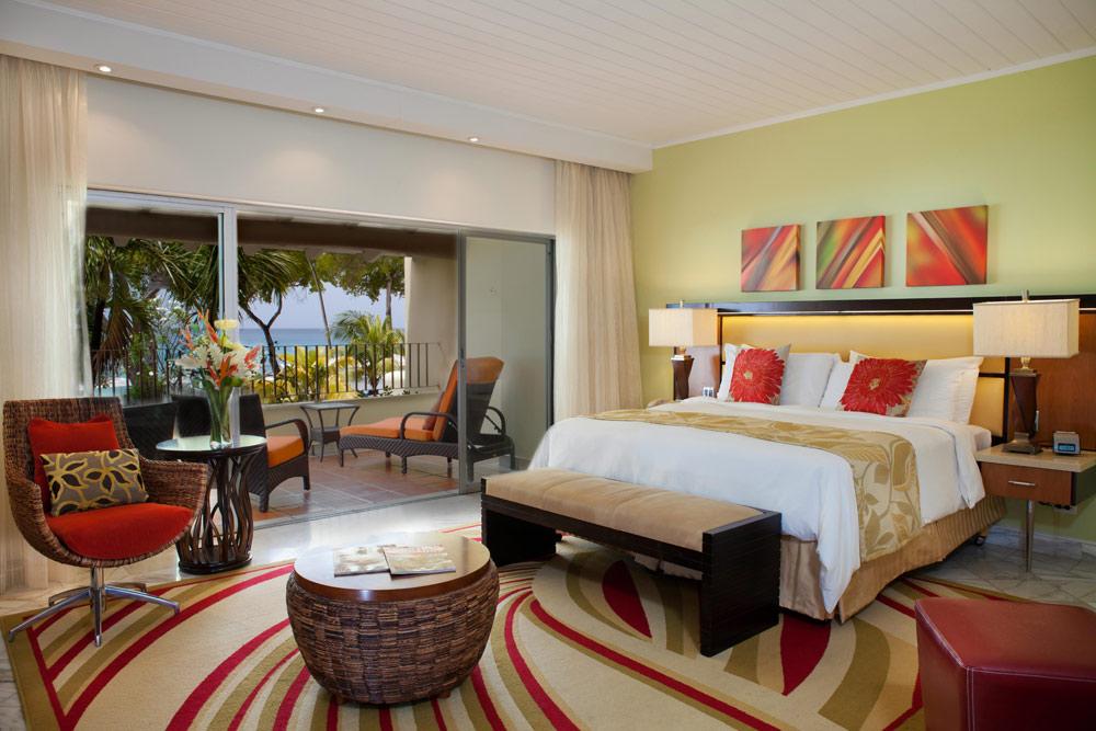 Ocean Front Room at Tamarind Cove Hotel St JamesBarbadosWest Indies