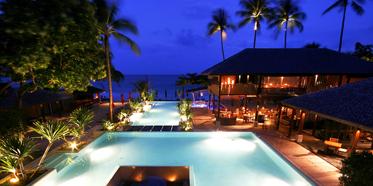 Exterior of Anantara Rasananda Koh Phangan Villa Resort and Spa