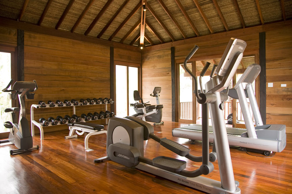 Fitness Center at Anantara Rasananda Koh Phangan Villa Resort and Spa