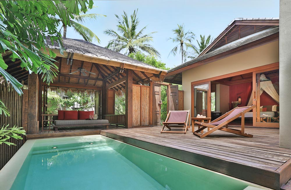 Lagoon Pool Suite at Anantara Rasananda Koh Phangan Villa Resort and Spa