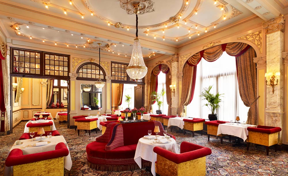 Dine at Hotel Des IndesThe HagueNetherlands
