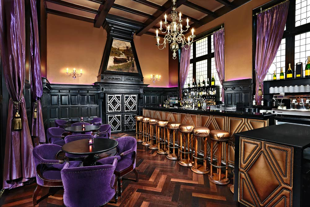 Bar and Lounge at Hotel Des IndesThe HagueNetherlands