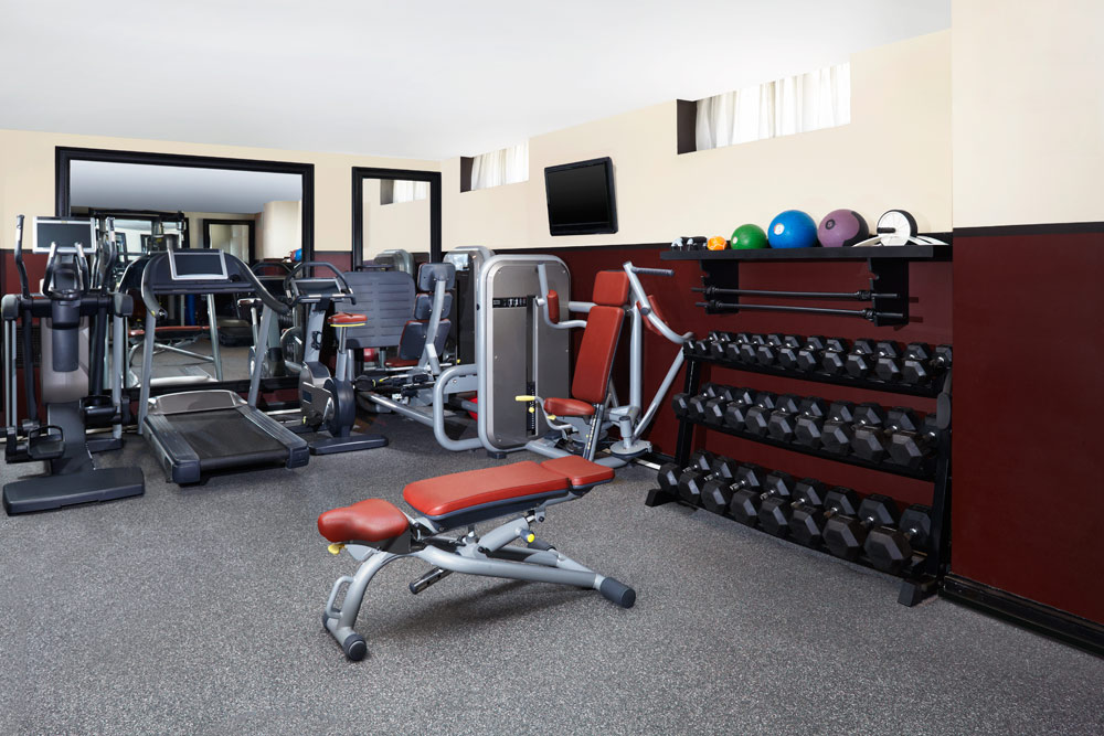 Fitness Center at Hotel Des IndesThe HagueNetherlands