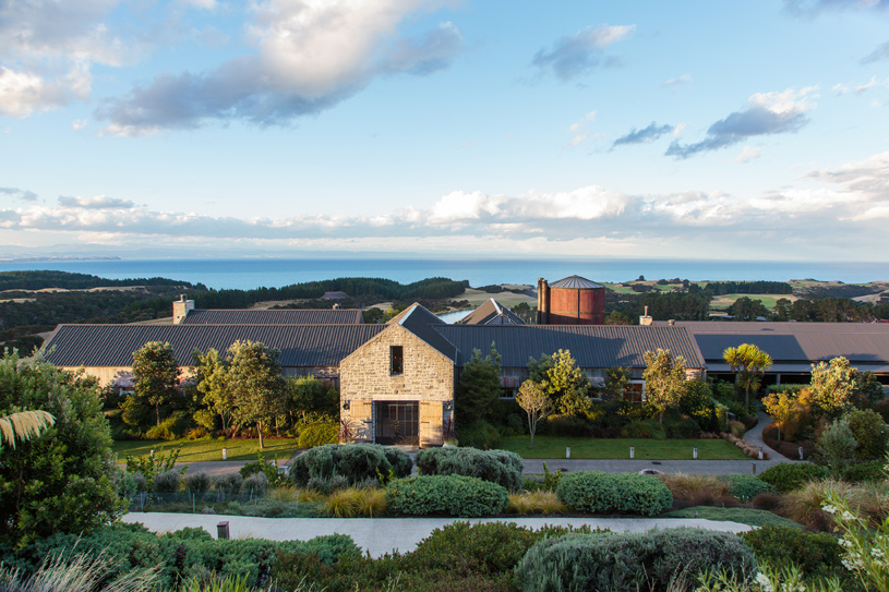The Farm at Cape Kidnappers Exterior View