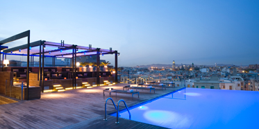 Sky Bar at The Pool at Grand Hotel Central Barcelona
