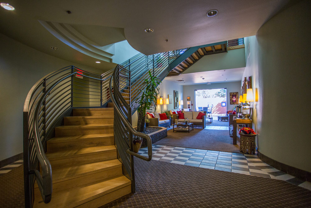 Lobby of Sedona Rouge Hotel and Spa, AZ