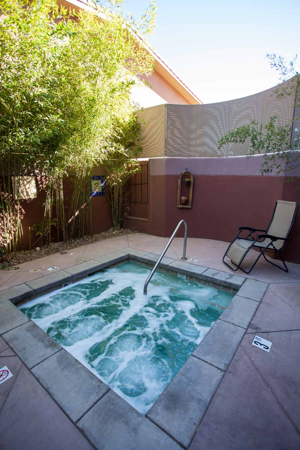 Jacuzzi at Sedona Rouge Hotel and Spa, AZ