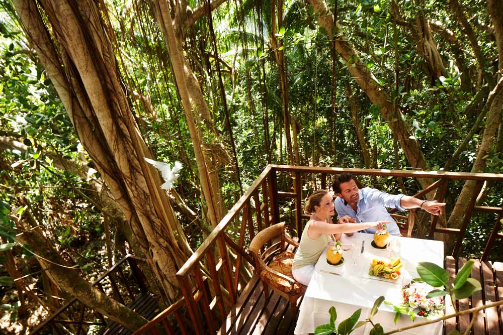 Nature Dining at Fregate Island Private Seychelles Fregate IslandSeychelles