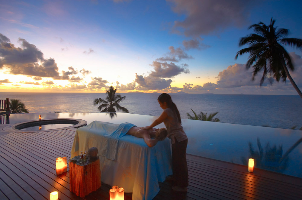 Spa at Fregate Island Private Seychelles Fregate IslandSeychelles
