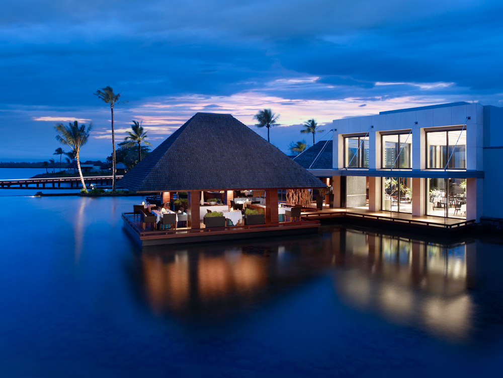 Exterior of Four Seasons Resort Mauritius at Anahita