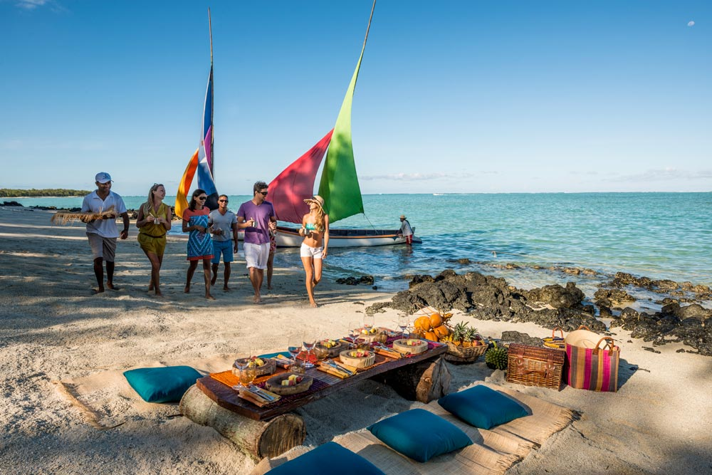 Beach Activities at Four Seasons Resort Mauritius at Anahita