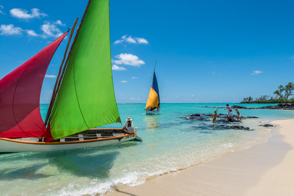 Windsurfing at Four Seasons Resort Mauritius at Anahita