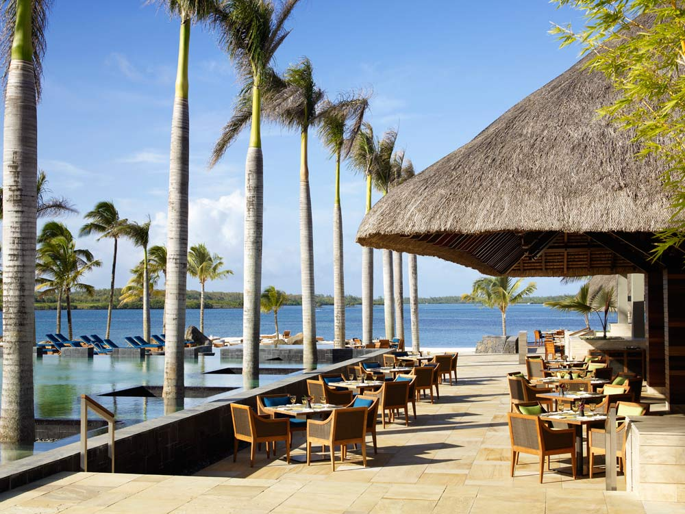 Terrace at Four Seasons Resort Mauritius at Anahita