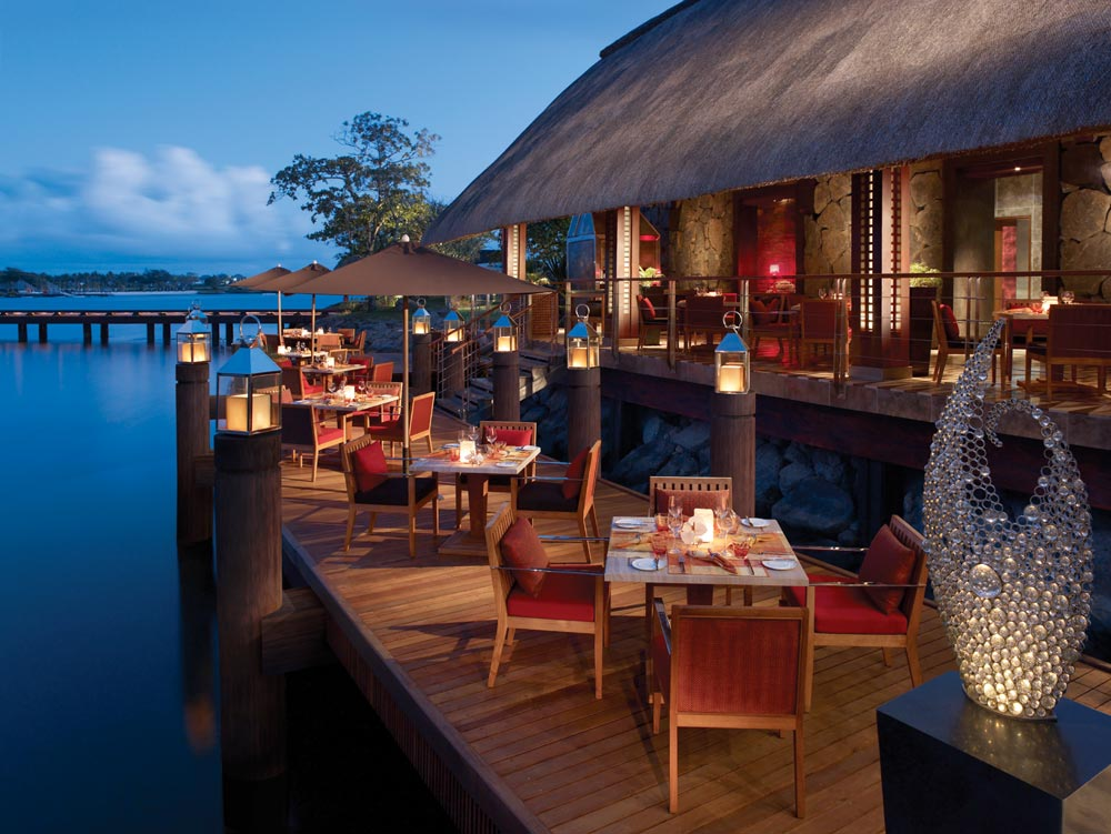 Terrace Dining at Four Seasons Resort Mauritius at Anahita