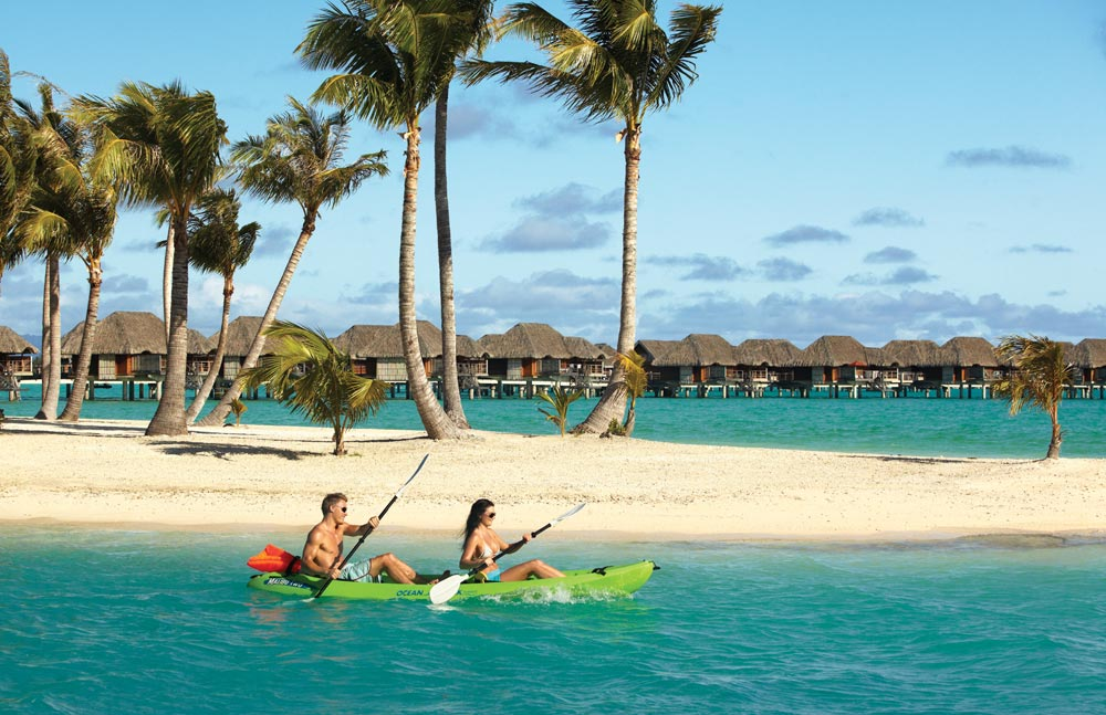 Kayaking at Four Seasons Resort Bora BoraFrench Polynesia