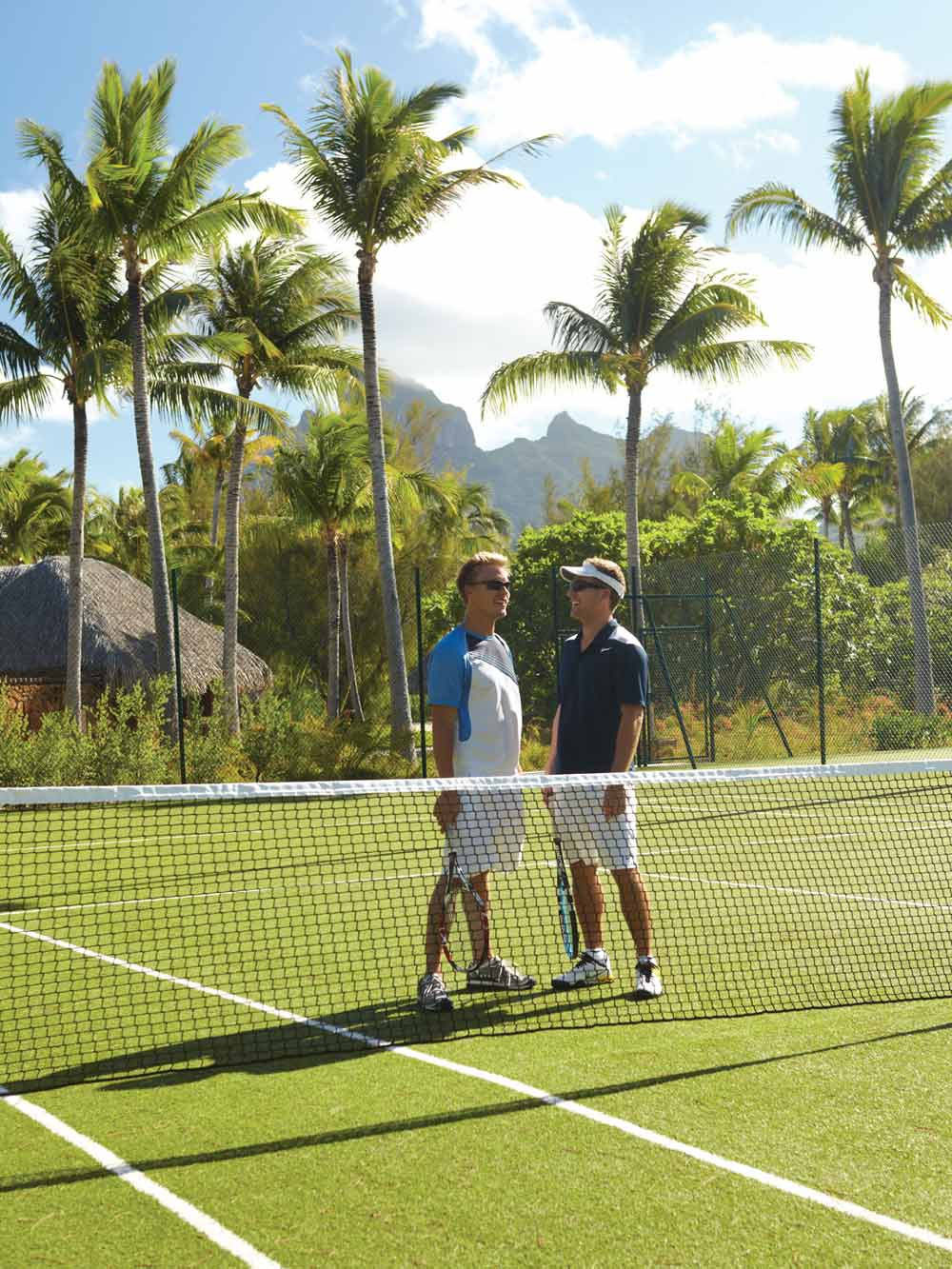 Tennis at Four Seasons Resort Bora BoraFrench Polynesia