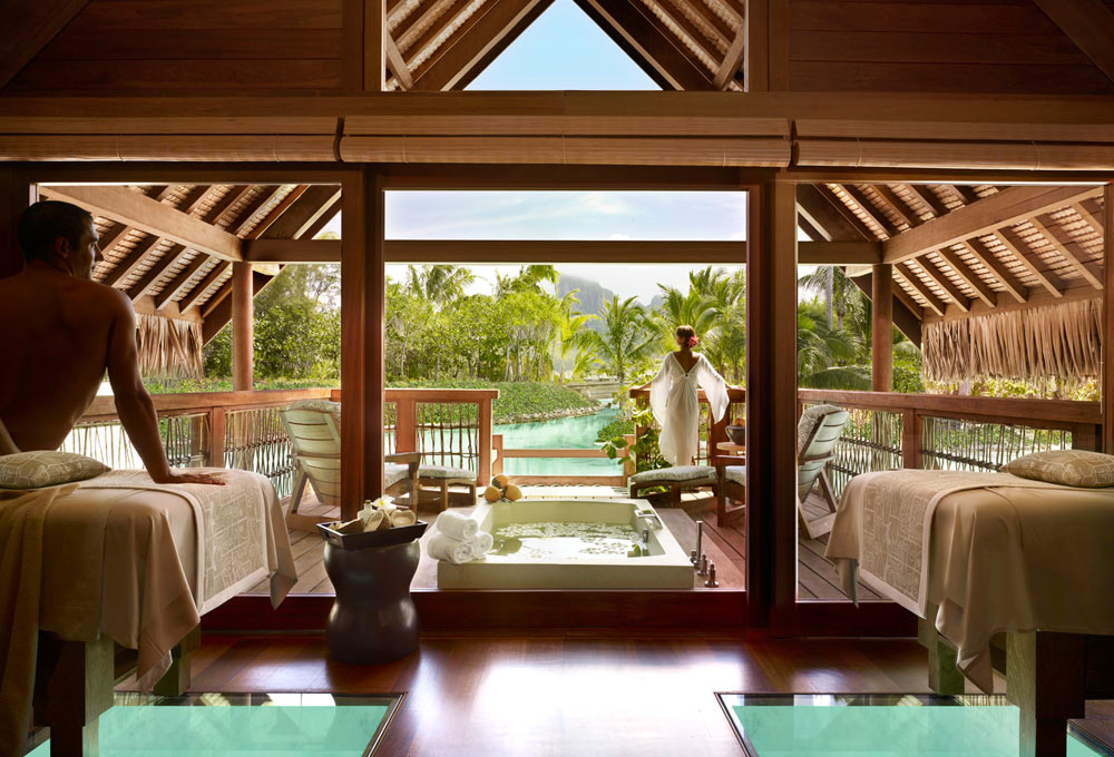 Spa atFour Seasons Resort Bora BoraFrench Polynesia
