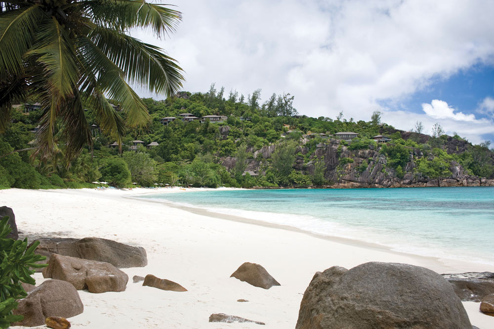 Beach at Four Seasons Resort Seychelles