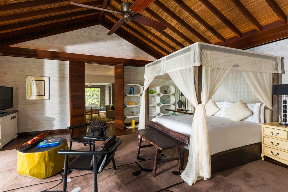 Guestroom at Four Seasons Resort Seychelles