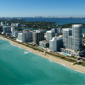 Aerial View of Carillon Hotel Miami Beach, FL