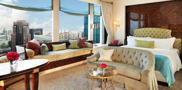 St Regis Singapore Penthouse Suite Master Bedroom