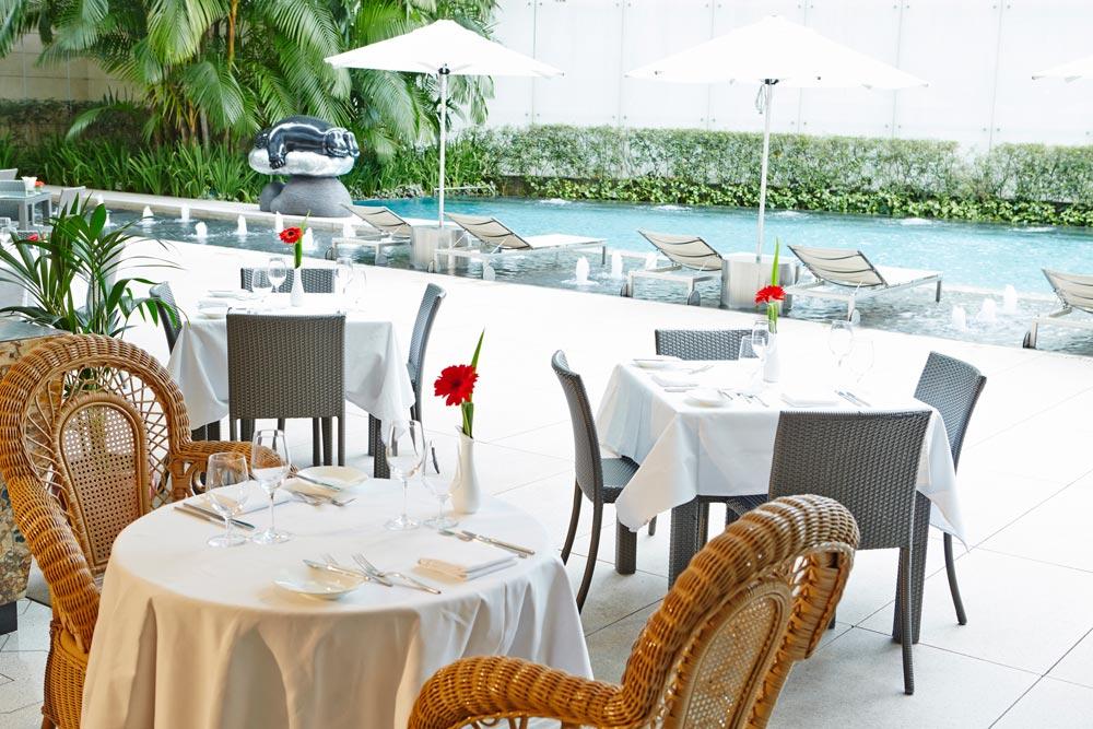 St Regis Singapore LaBrezza Restaurant