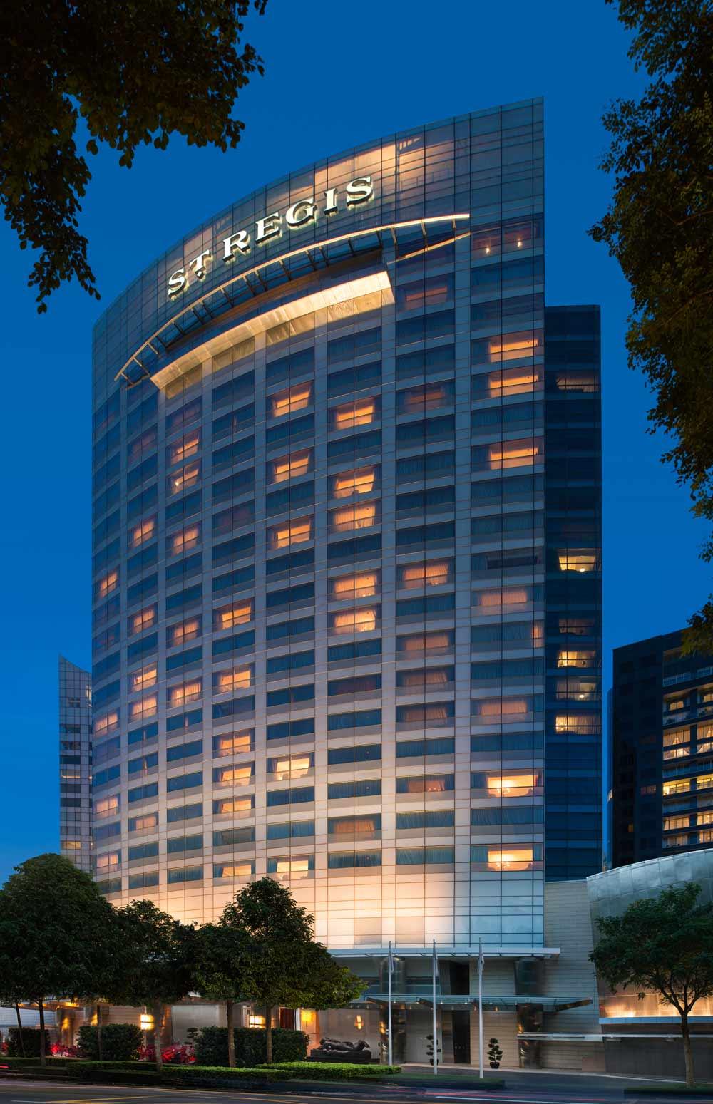 St Regis Singapore Hotel Exterior