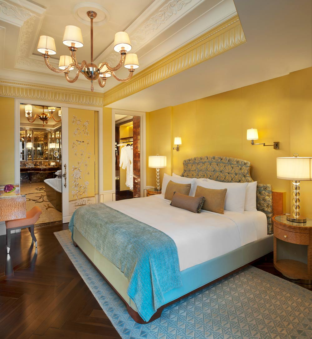 A Specialty Suite Bedroom At The St Regis Singapore