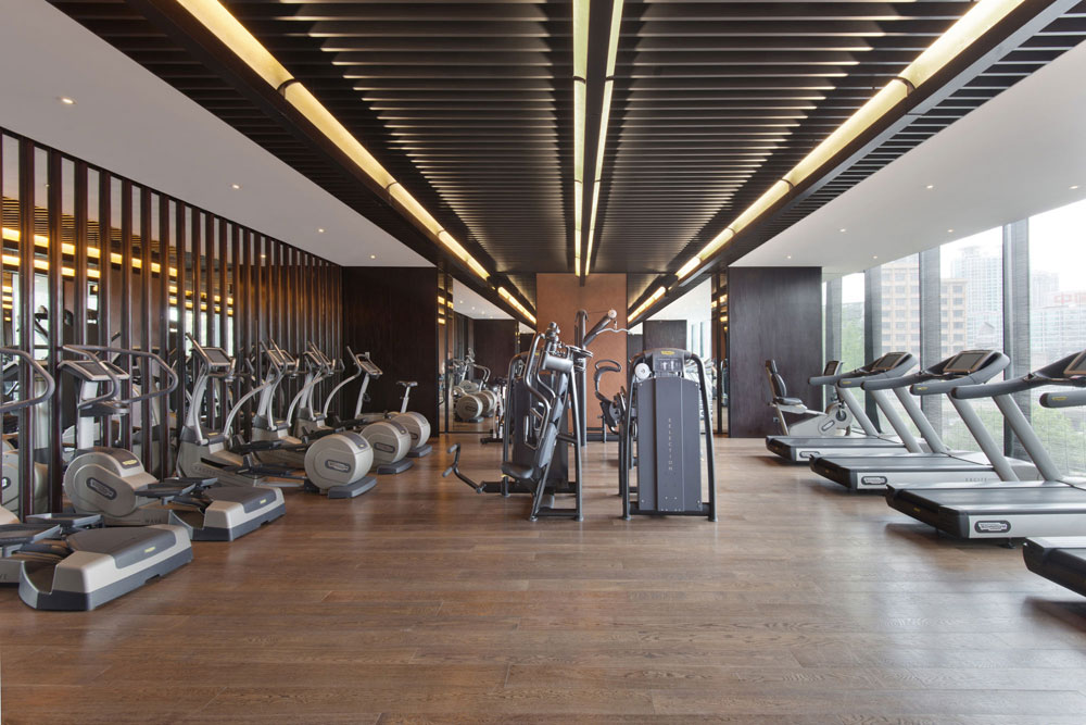 Fitness Center at The PuLi Hotel and SpaShanghaiChina