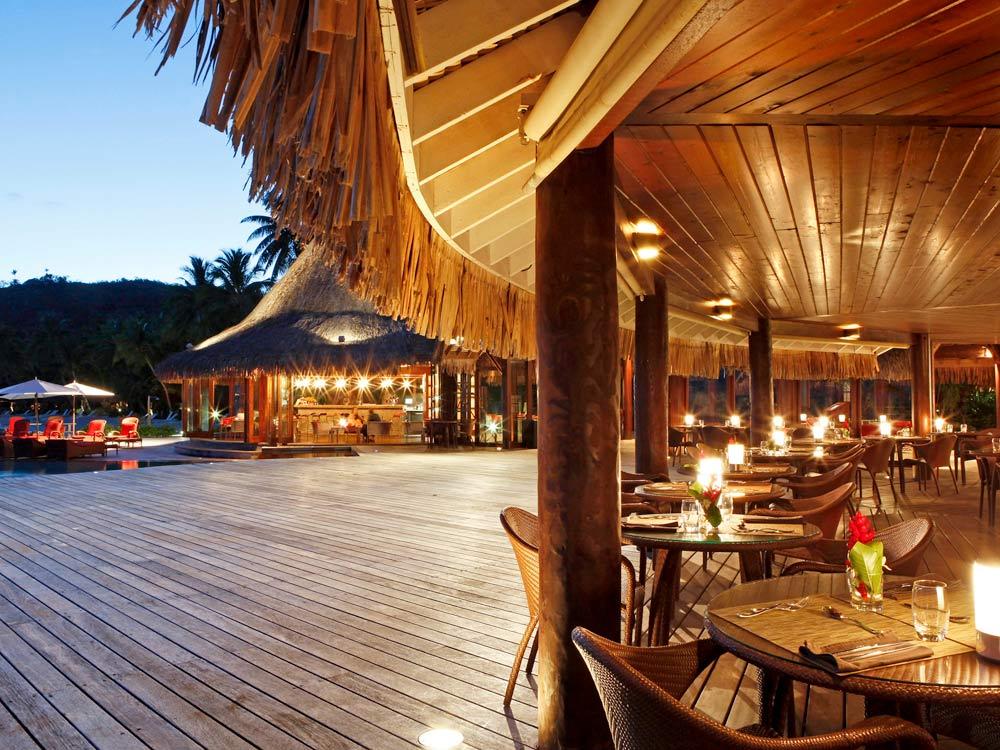 Dine at Sofitel Bora Bora MararaBora BoraFrench Polynesia