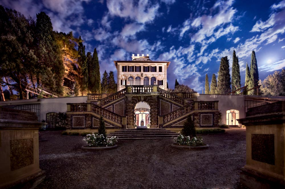 Exterior of Hotel ll Salviatino Florence, Italy
